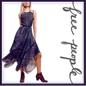 Free People Cut Out Maxi Dress